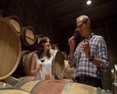 Vintønder og Vinsmagning hos Mas Llunes